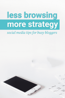 Less browsing, more strategy. Be intentional with social media marketing.