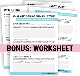 bonus worksheet