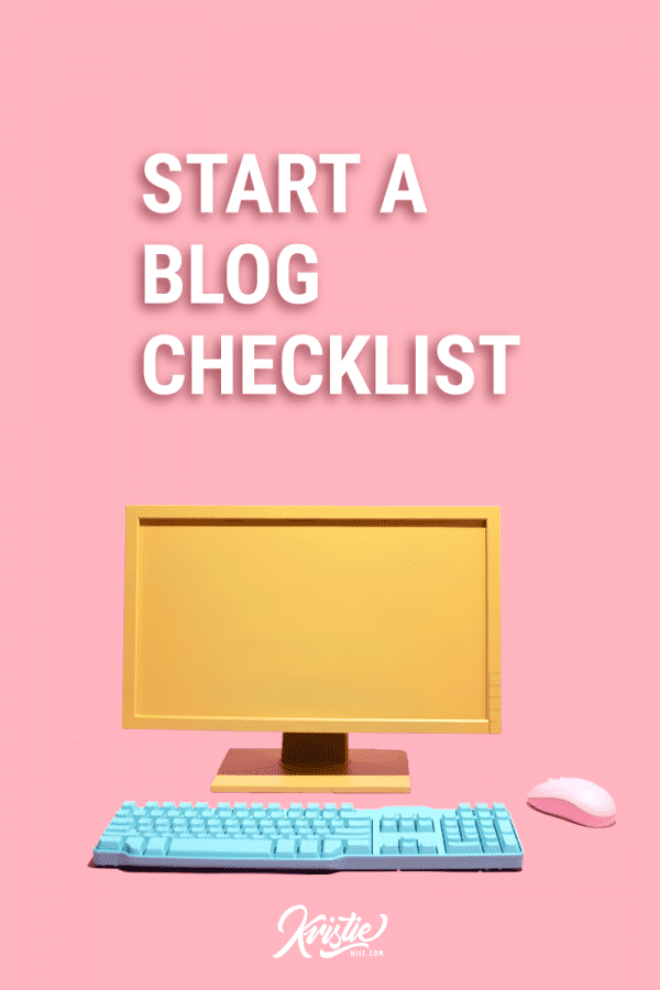 26 things you need to do before launching your blog (free checklist)