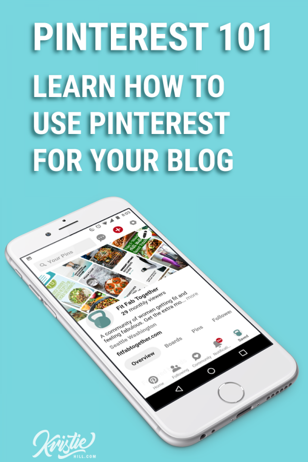 Cover photo: Learn how to use Pinterest for your blog